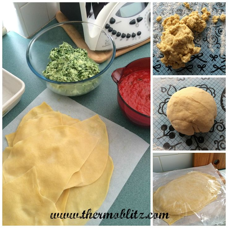 Ricotta and Spinach Cannelloni - Fresh Pasta