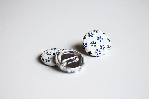 silvART / Bielo-modrý odznak
