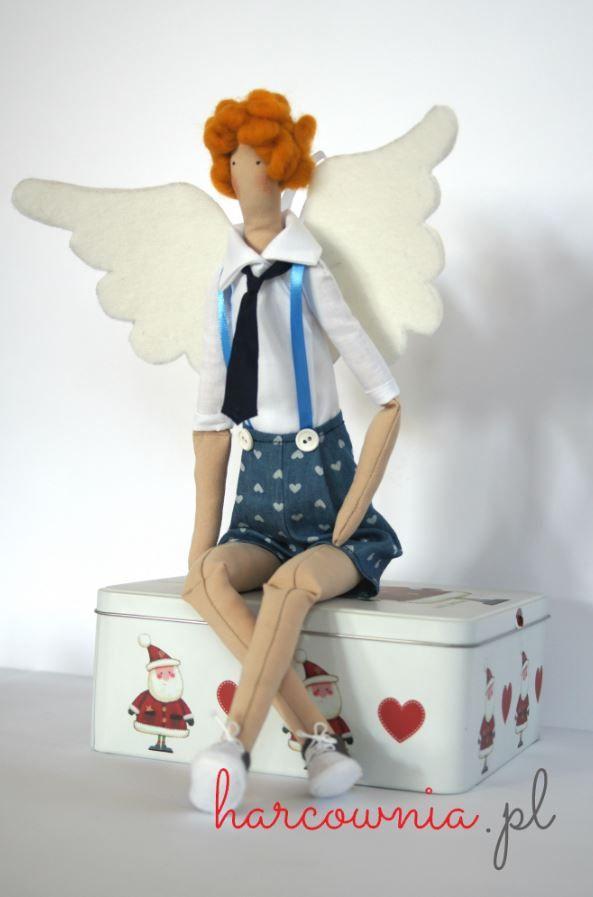 Tilda Gabryś handmade Guardian Angel - a unique gift ide