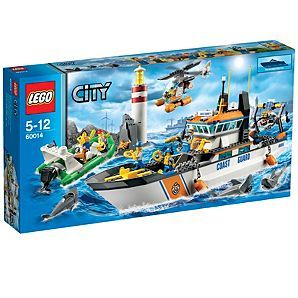 LEGO City Coast Guard Patrol - 60014, for Grace, but to do with Daddy :)