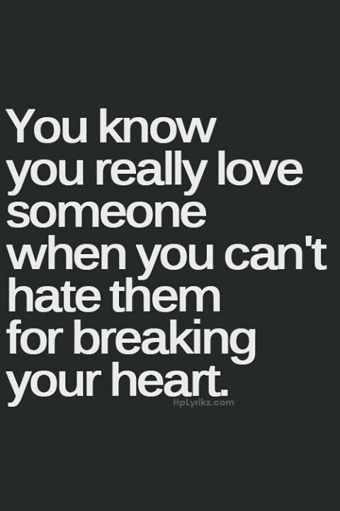 Change love to loved because even if you can't hate them you can still walk away from loving them.
