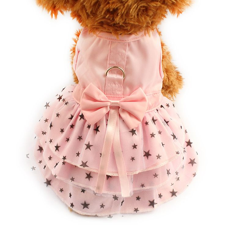 Our Princess Starry Dog Dress is one of our best sellers! Make your deserved doggy pretty in pink in our striking starry dress. Whether for play time, a weekend walkie or a special occasion, this will make your doggy look delightful.  https://www.dressyourdoggy.com/collections/dresses/products/princess-starry-dog-dress?variant=27246854793