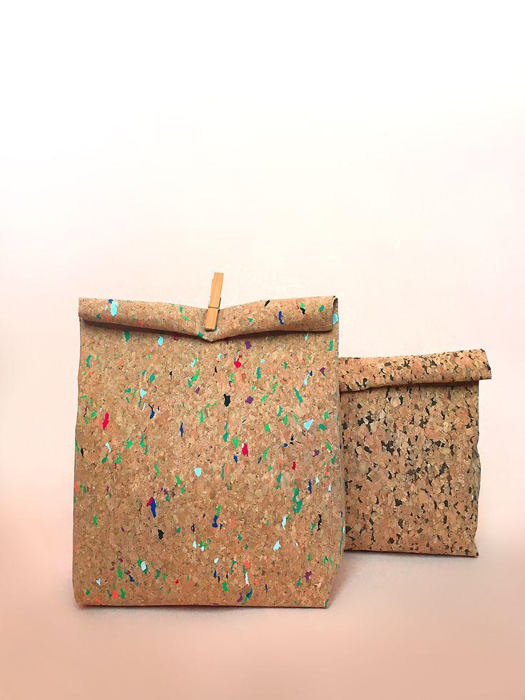 Un do-it-yourself qui revisite le lunch bag en papier : plus résistant et plus tendance. Un tutoriel couture simple qui met le liège à l'honneur !
