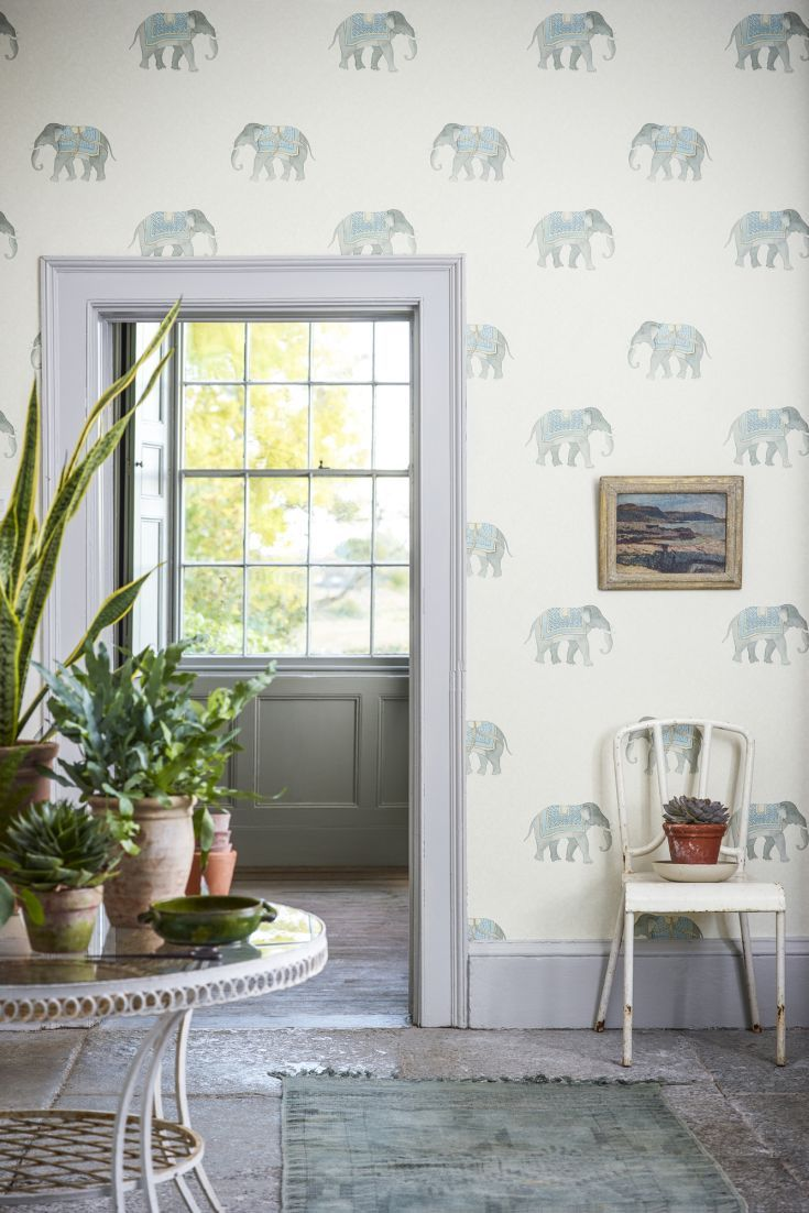 One of favourite designs from the new Sanderson Art of the Garden wallpaper collection.