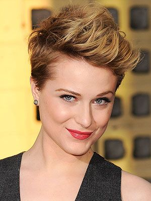 Evan Rachel....if ever brave to cut it short, I like this!Evans Rachel Wood, Haircuts, Hair Cut, Girls Hairstyles, Shorthair, Shorts Hair Style, Shorts Cut, Shorts Hairstyles, Pixie Cut