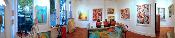 Gallery image featuring works by Paul Kessling, Paul Wright, Ray Church