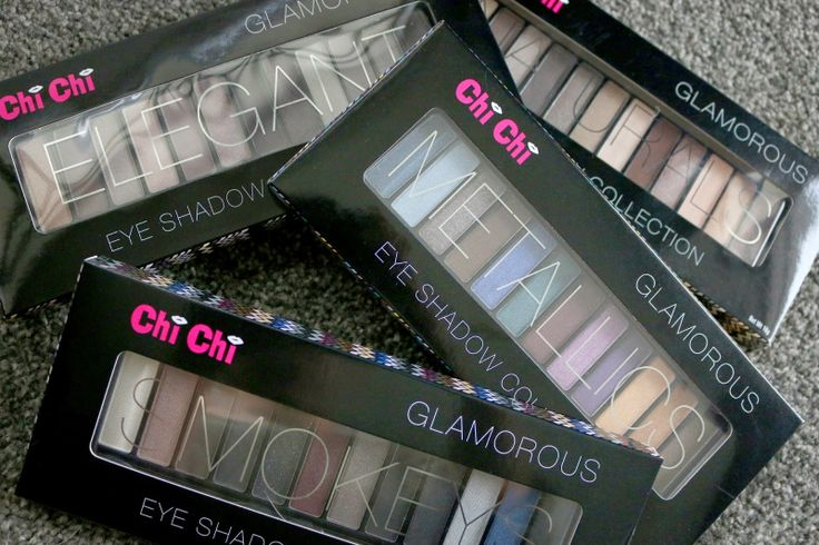 Shaaanxo: New Chi Chi Cosmetics Eyeshadow Palettes, Swatches