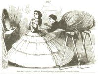 Victorian Fashion Cartoons | Sense & Sensibility Patterns