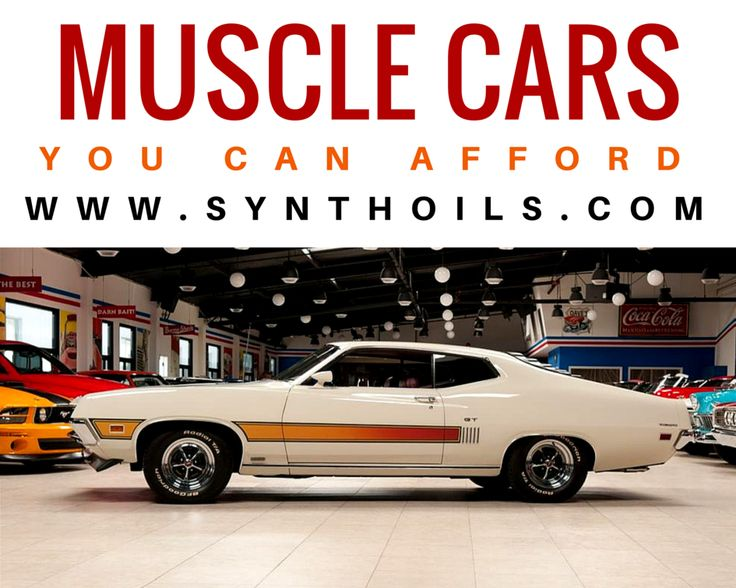 Muscle cars have made a comeback. We gave you a primer on how to store a muscle car, now it's time to fill that storage. Read here: http://synthoils.com/blog/posts/tips/new-muscle-cars-you-can-afford-aug