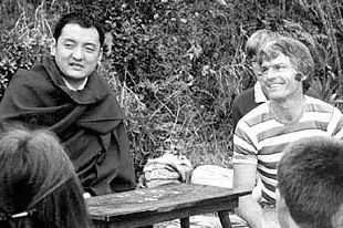 Shamarpa Rinpoche and Ole Nydahl