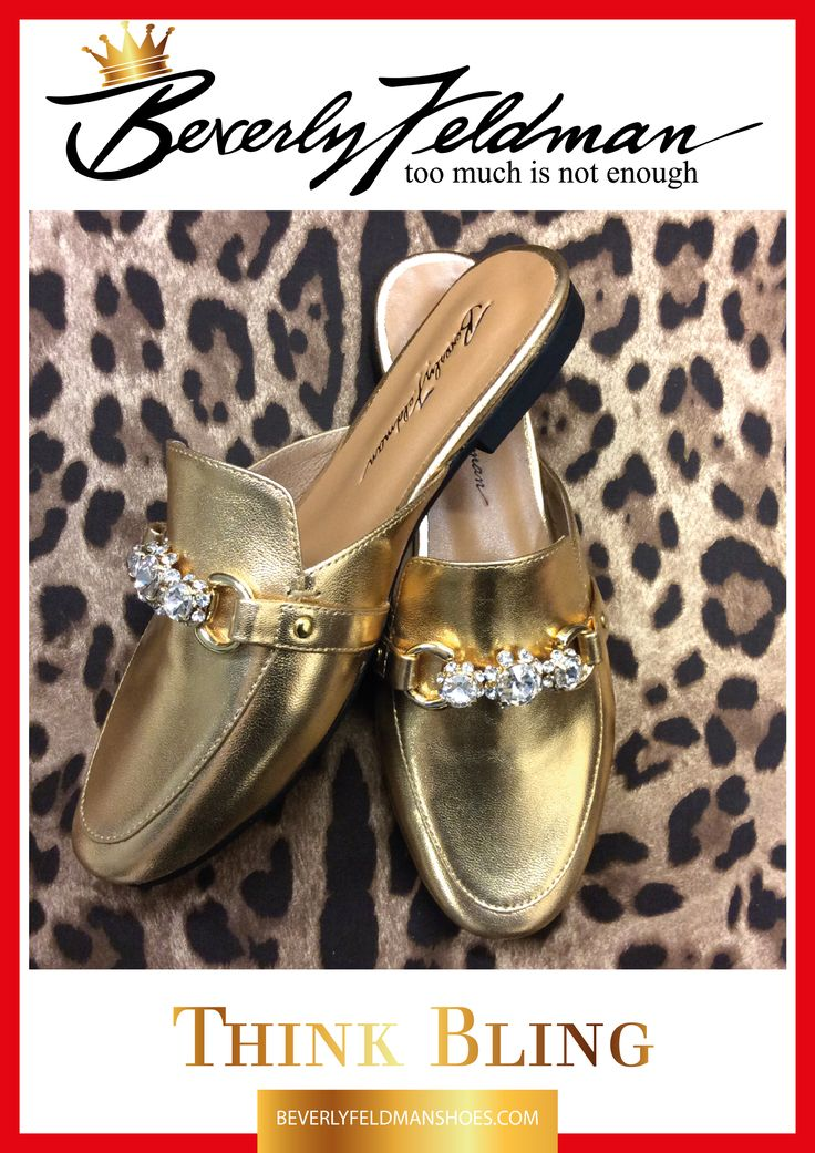 Just in, the photo. The shoes are taking a bit longer,  Pre order now, and delivery is end of February. Perfect timing for Spring. Classic styling with my signature bling bit, a great way to gift yourself for the wonderful person you are. Available here: http://beverlyfeldmanshoes.com/loafers/bling-thing-gold.html #gold #design #shoes #designshoes #beverlyfeldman #comfortshoes #luxury #divs #chic #fashionbloggers #shoeporn #shoelover #londonblogger #styleblogger #paris