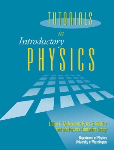 Tutorials In Introductory Physics and Homework « Delay Gifts