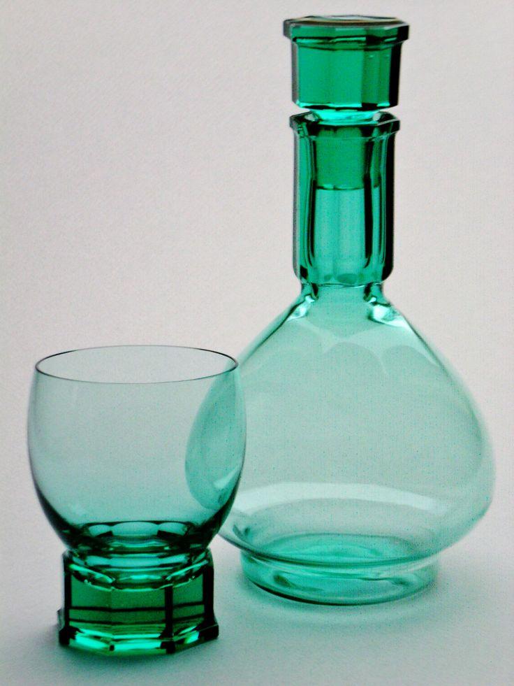 Glass & Carafe ANDRIES D. COPIER Royal Leerdam