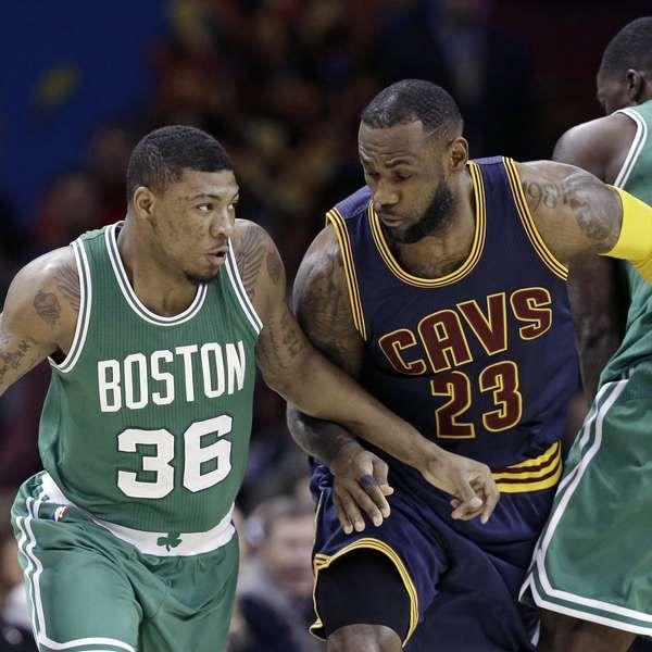 Celtics sorprenden a LeBron y Cavs