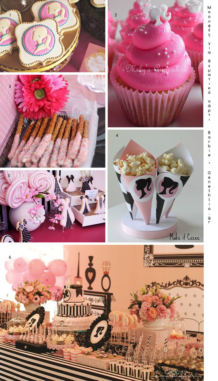 Food Ideas for a Barbie themed party!