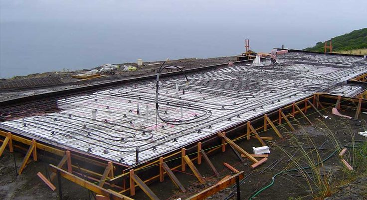 Hydronic underfloor heating is the most comfortable and pleasant form of heating, due to its natural radiation and convection