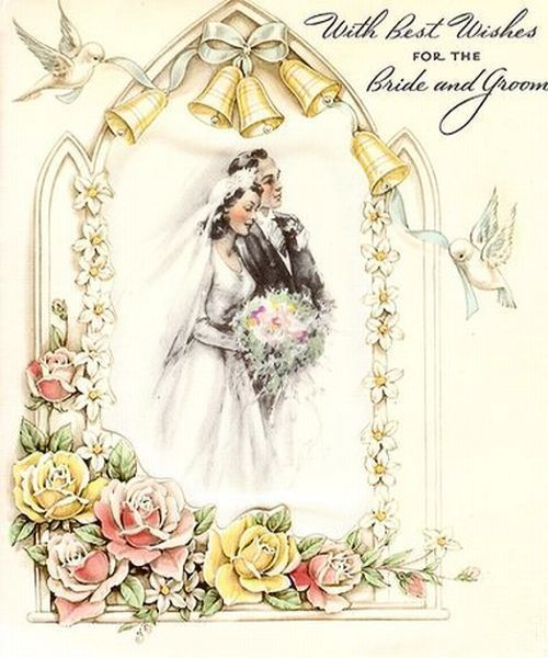 Герб ставропольского, открытка с днем свадьбы винтажная