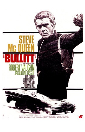 "#bullit #mcqueen Steve McQueen is the master of ""Cool"" as the hard core detective. Best car chase scene in movie history"