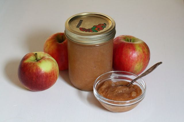 Maple Cinnamon Applesauce - a sure hit with the little people in your life