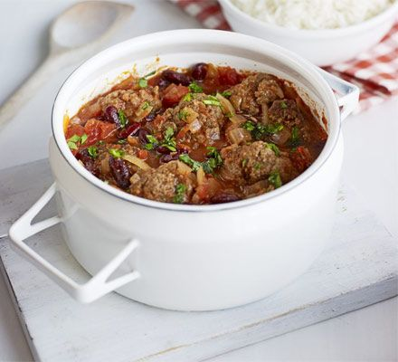 Smoky Mexican meatball stew % acid reflux recipes in detail
