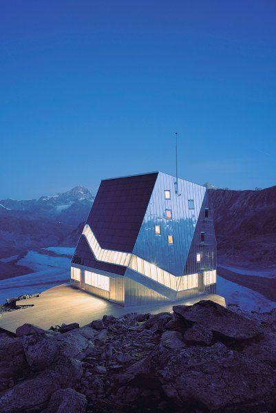 Die neue Monte-Rosa-Hütte von Andrea Deplazes und dem ETH-Studio «Monte Rosa» hoch oberhalb von Zermatt