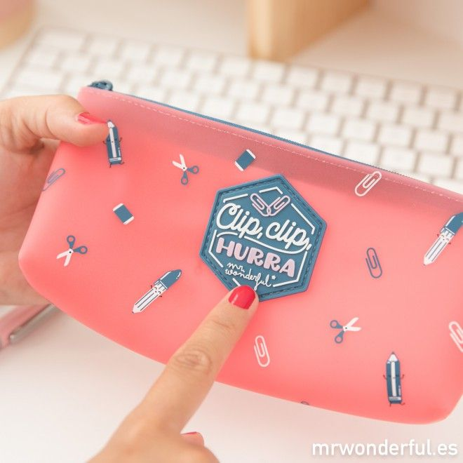 Estuche - ¡Clip, clip, hurra! - Mr. Wonderful