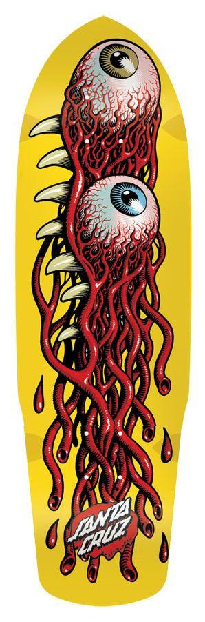 Santa Cruz Skateboards Eye Pod.   http://www.nhsfunfactory.com/brands/santacruz/1/Decks/