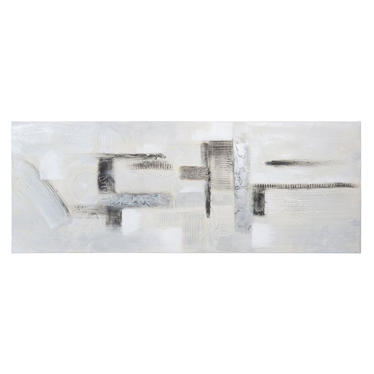 Maison du monde Toile 40 x 105 cm PANORAMIC ABSTRACT 39,99 €