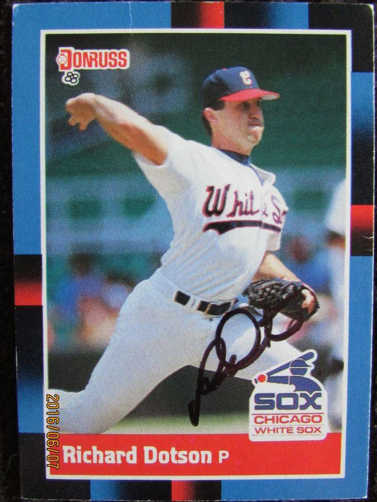 1988 donruss ttm chicago white sox baseball cards