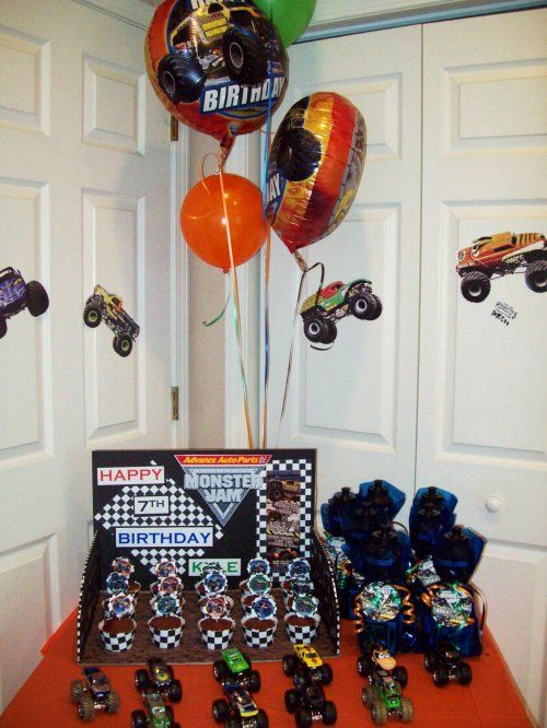 More Monster Jam Party Ideas Coming Soon!