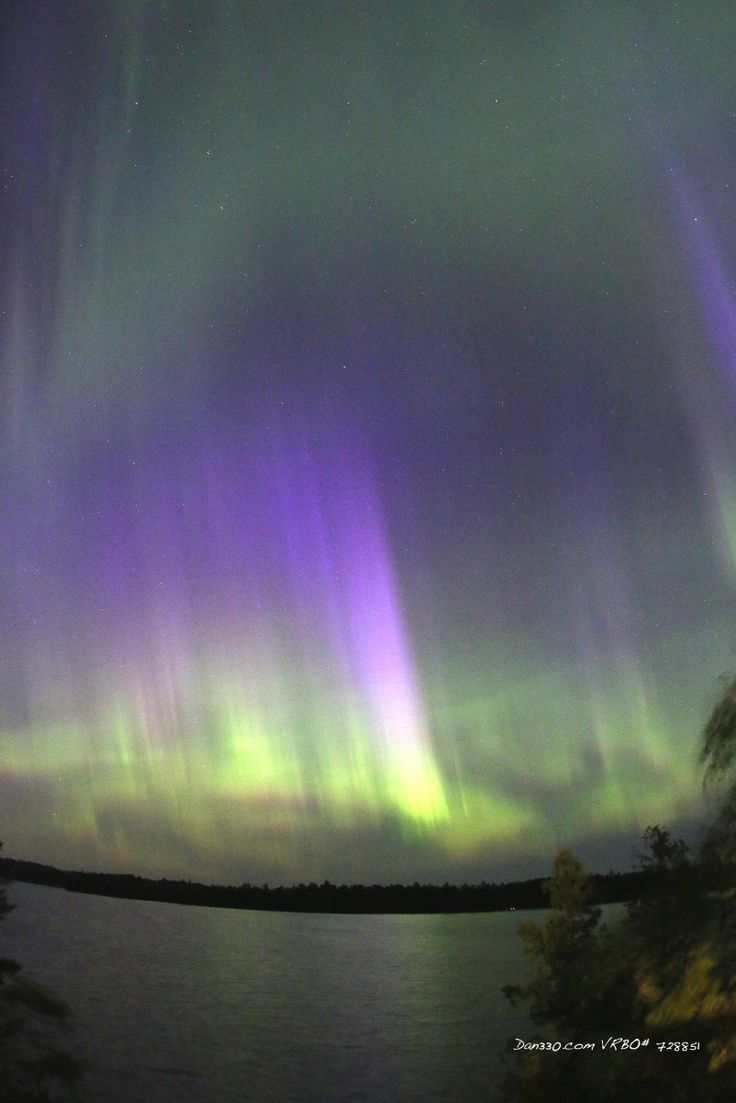 Northern lights in Minnesota by Dan330.com
