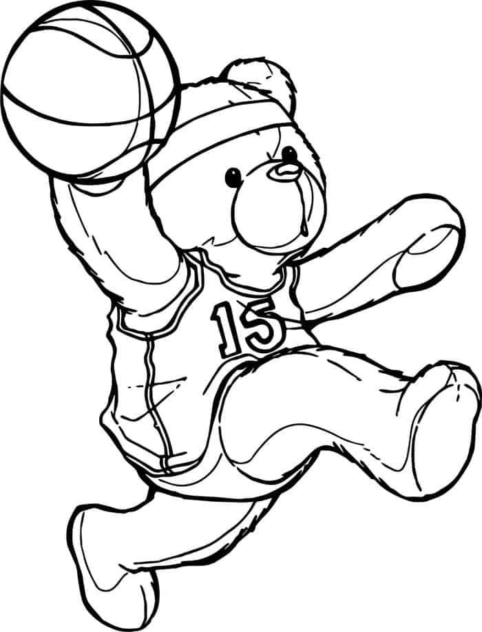 Uk Basketball Coloring Pages Baseball Coloring Pages Bear Coloring Pages Sports Coloring Pages