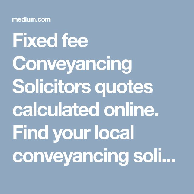 Compare conveyancing costs