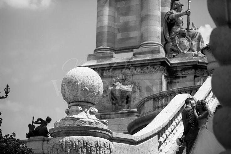 Фотосессия в Париже Ирины и Василия