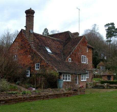 House where AA Milne wrote Winnie-the-Pooh. Cotchford Farm, near Hartfield