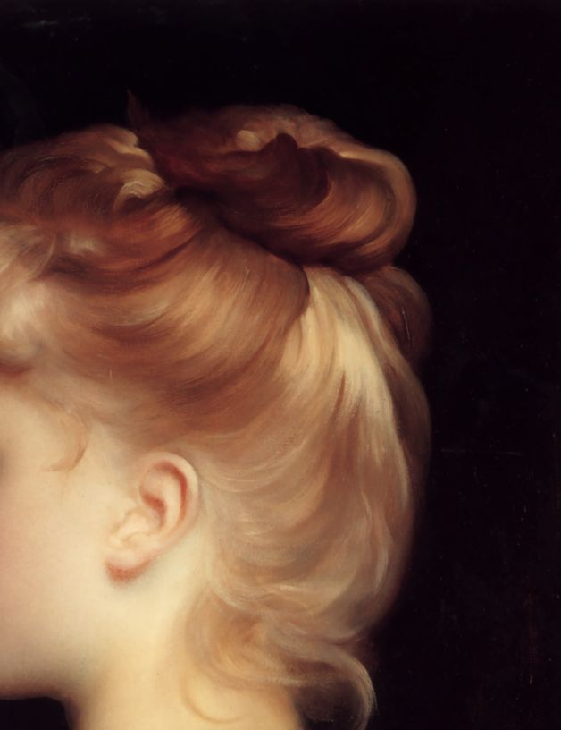 Frederic Leighton, A Girl (detail)