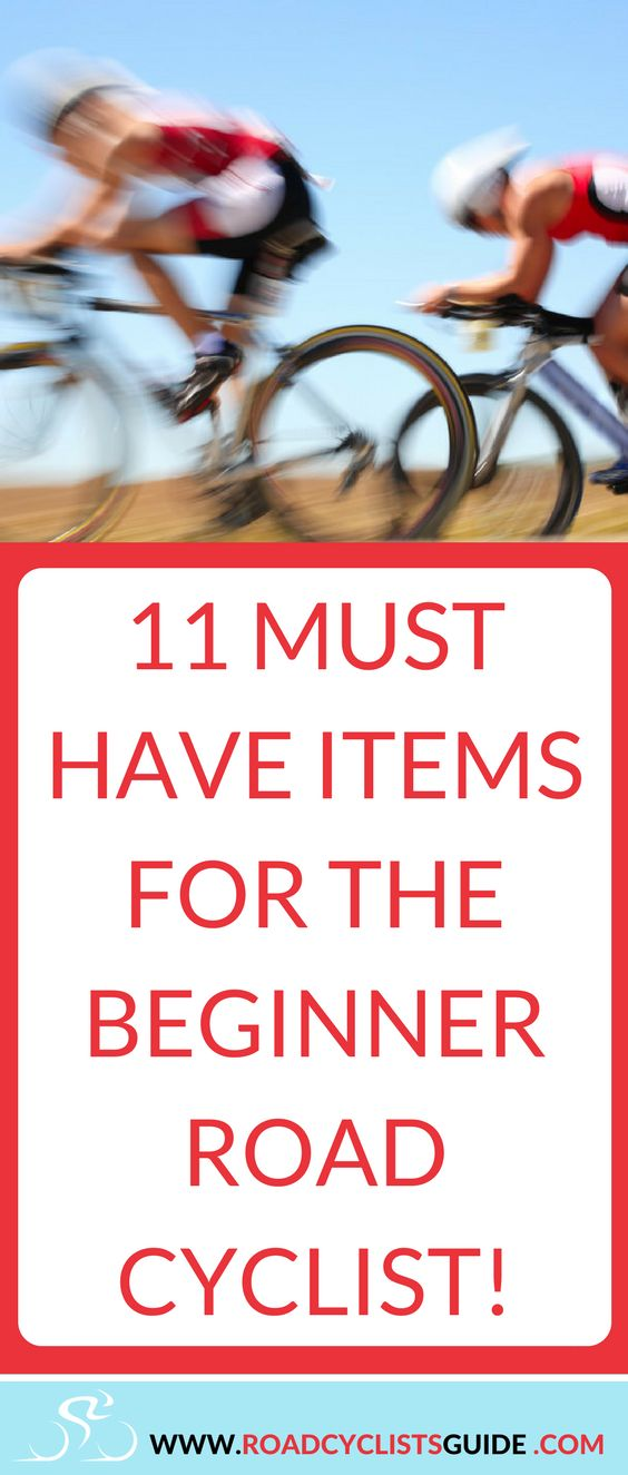 Must have items for the beginner road cyclist