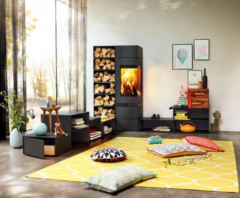12 besten Kamin Bilder auf Pinterest Kaminofen, Kamine und Holzofen - wohnzimmer modern mit ofen