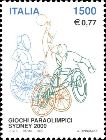 """2000 - """"Lo sport italiano"""": Paraolimpiadi Sydney - Scene di sport per disabili"""