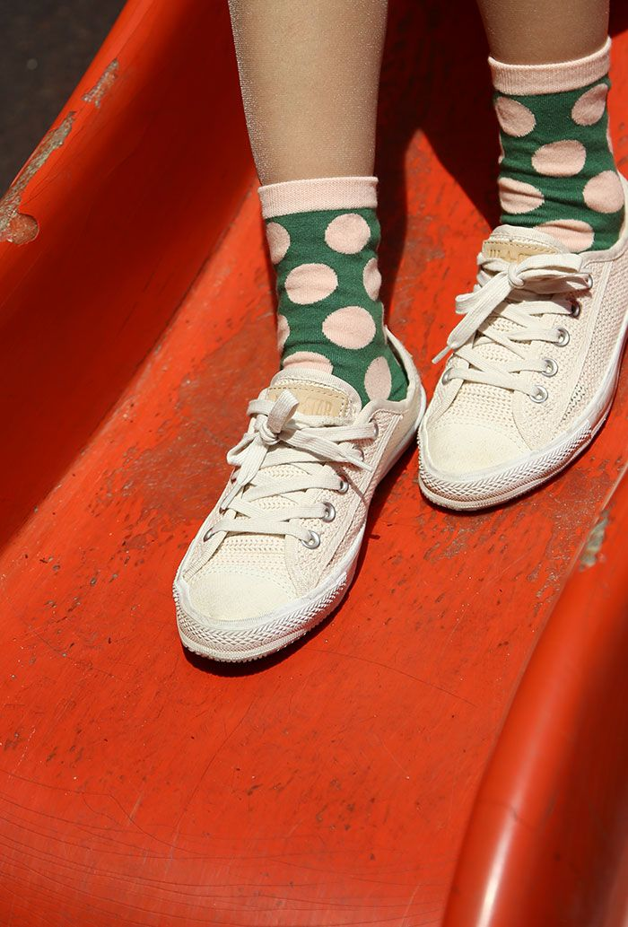 Dot pattern Socks