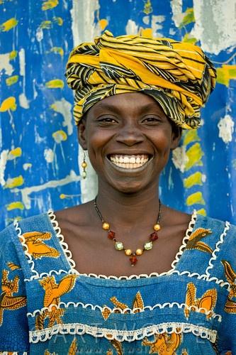 Bambara woman, Mali.