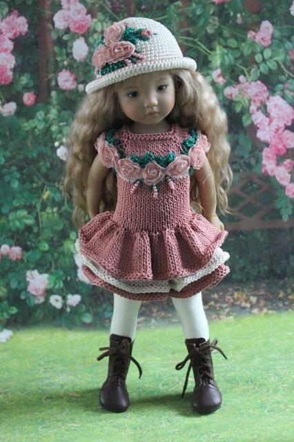 Мое сердце с Вами! Продолжение. / Одежда и обувь для кукол - своими руками и не только / Бэйбики. Куклы фото. Одежда для кукол
