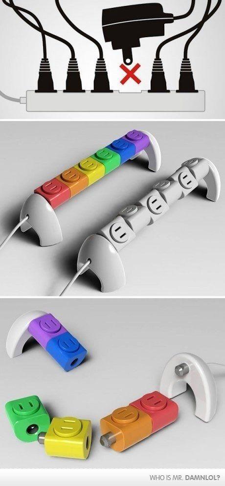Finally...a true plug and twist and replug and play. =)
