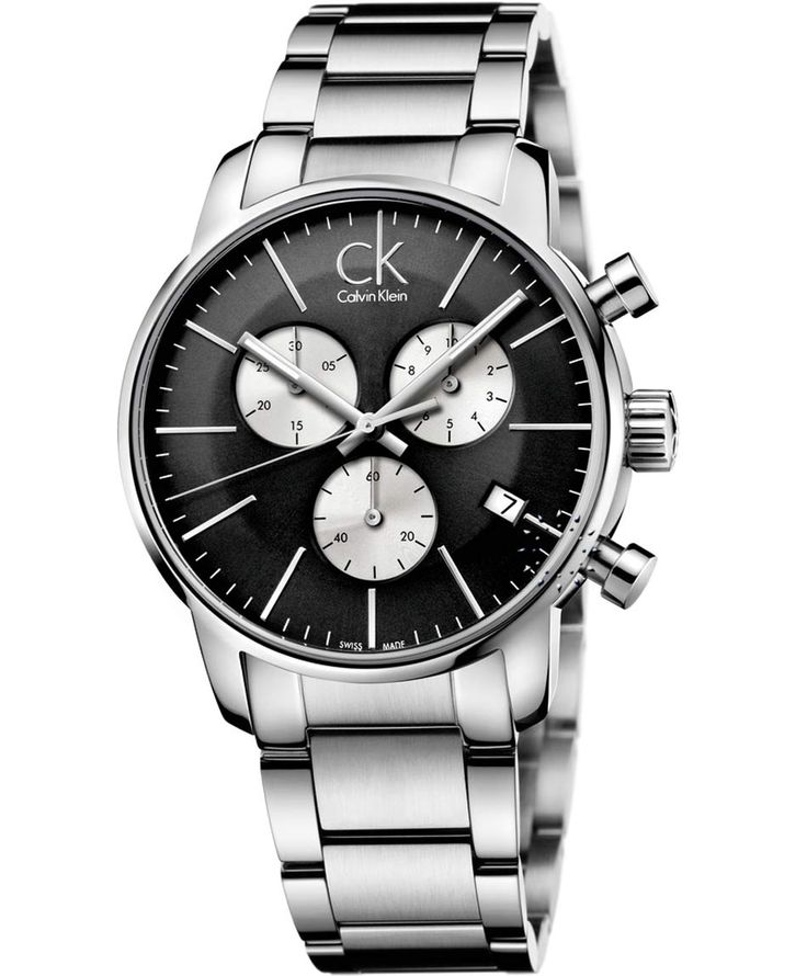 Calvin KLEIN Chronograph Stainless Steel Bracelet Τιμή: 323€ http://www.oroloi.gr/product_info.php?products_id=36860