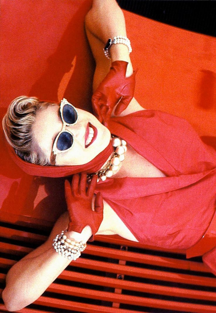 Madonna in Red