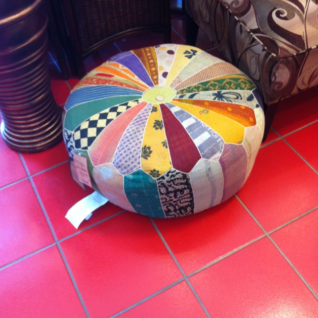 Bengali Pouf Ottoman Pier 1 Maybe Make With Mens