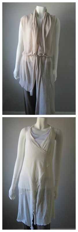 Gorgeous cream linens. Perfect for summer layering!