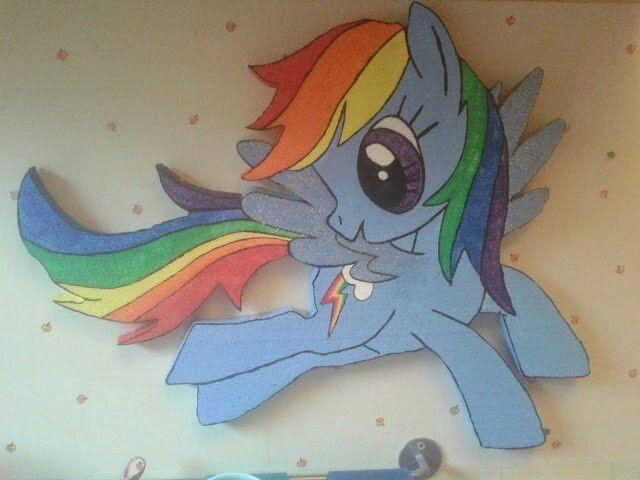 Styrox rainbow dash