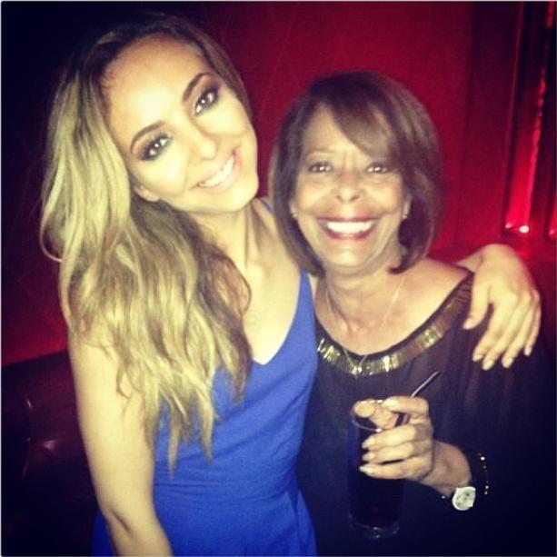 Me n wor Norma ravin last night #saluteafterparty #instagram