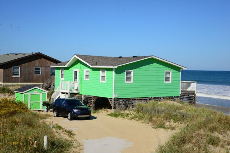A perfect Outer Banks, NC 4-bedroom House rental in South Nags Head located Oceanfront.
